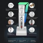 Профессиональная машинка для стрижки животных аккумуляторная/сетевая BaoRUN P9 4 насадки