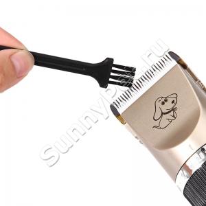 Машинка для стрижки животных аккумуляторная/сетевая BaoRUN P2 4 насадки