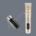 Профессиональная машинка для стрижки животных аккумуляторная/сетевая Dog Hair Trimmer LM-B8 4 насадки USB зарядка