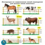 Электропастух (электрическая изгородь) с сиреной для коров, лошадей, баранов, коз, собак, кроликов, птицы (до 12 км, 12/220 В)
