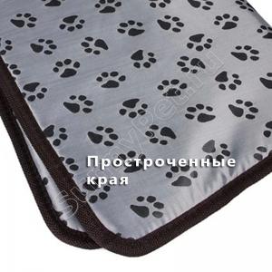 Коврик-подстилка с подогревом (греющая лежанка) для собак и кошек (45х45 см, 3 режима работы, защита от перегрева, автоотключение)